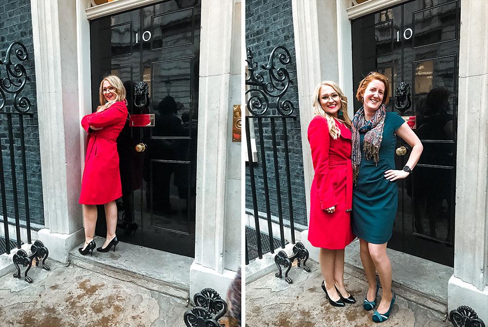 Cheryl Laidlaw 10 Downing Street